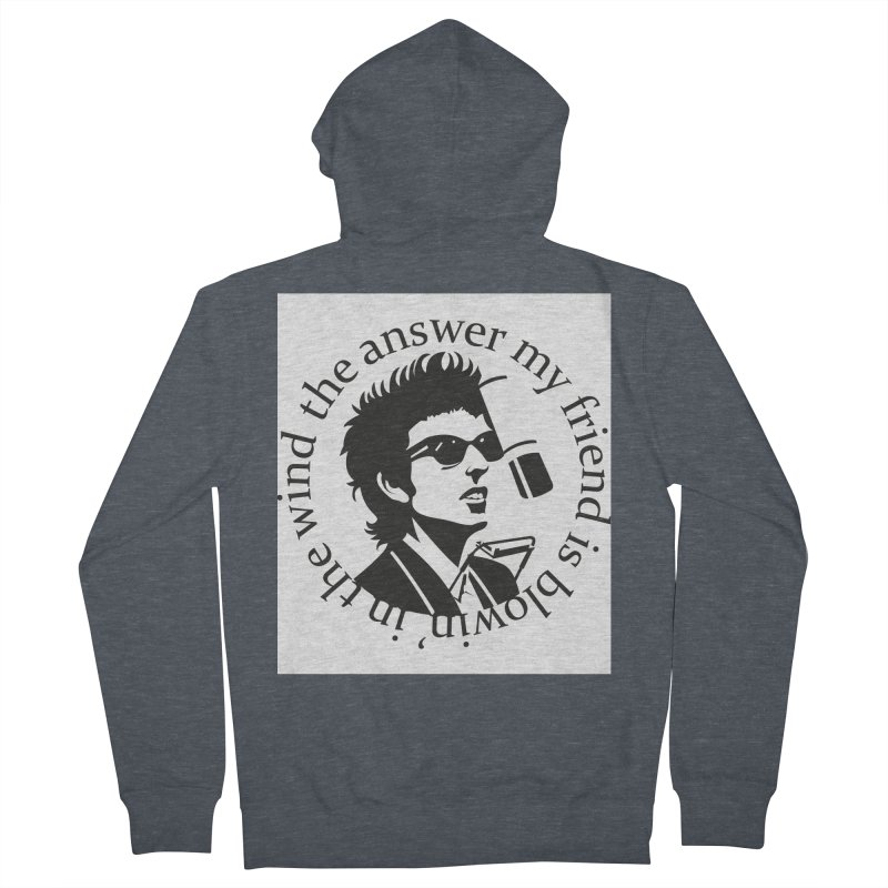 Blowin in the Wind. Women's French Terry Zip-Up Hoody by philscarr's Artist Shop