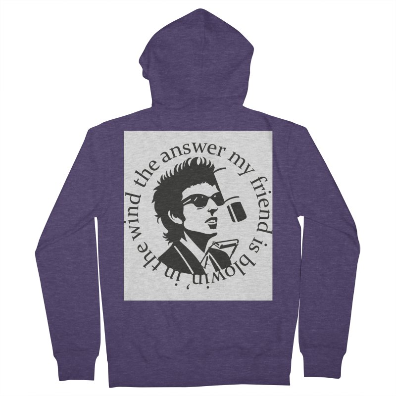 Blowin in the Wind. Men's French Terry Zip-Up Hoody by philscarr's Artist Shop