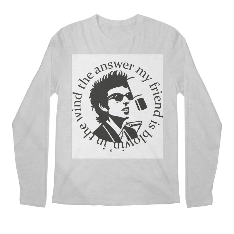 Blowin in the Wind. Men's Regular Longsleeve T-Shirt by philscarr's Artist Shop