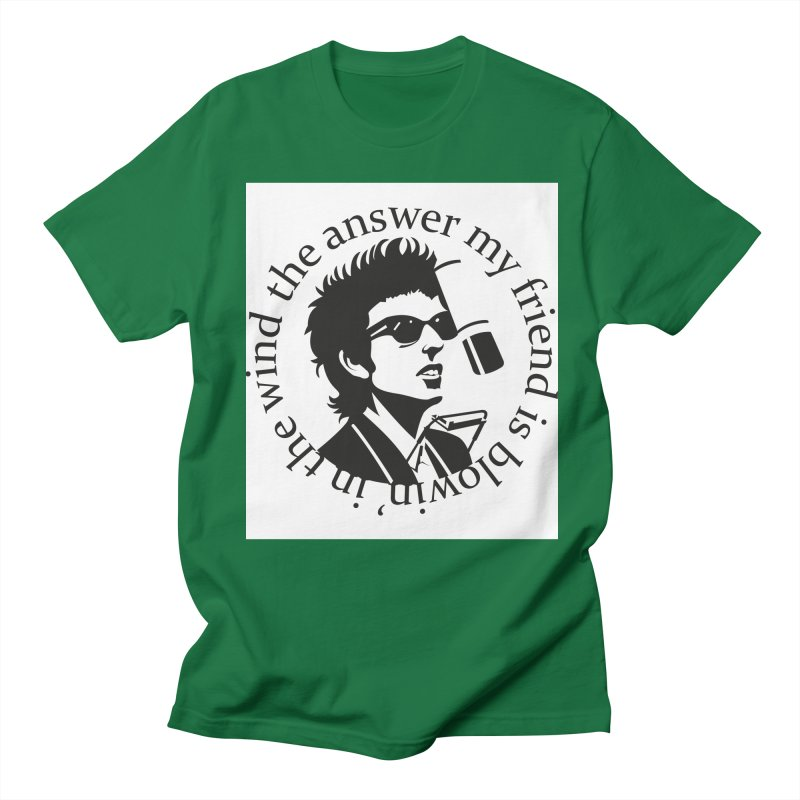 Blowin in the Wind. Men's Regular T-Shirt by philscarr's Artist Shop