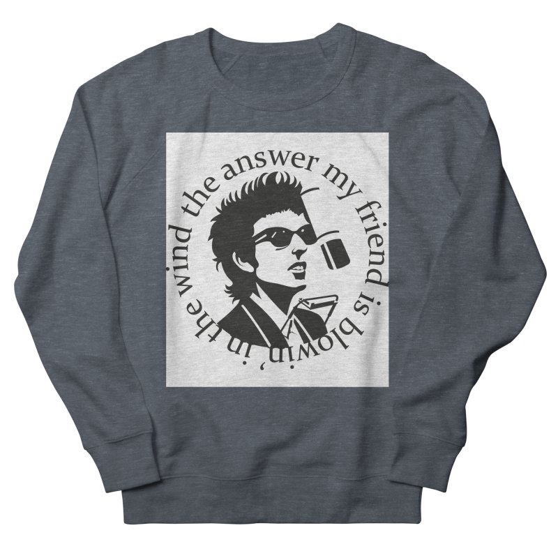 Blowin in the Wind. Women's French Terry Sweatshirt by philscarr's Artist Shop