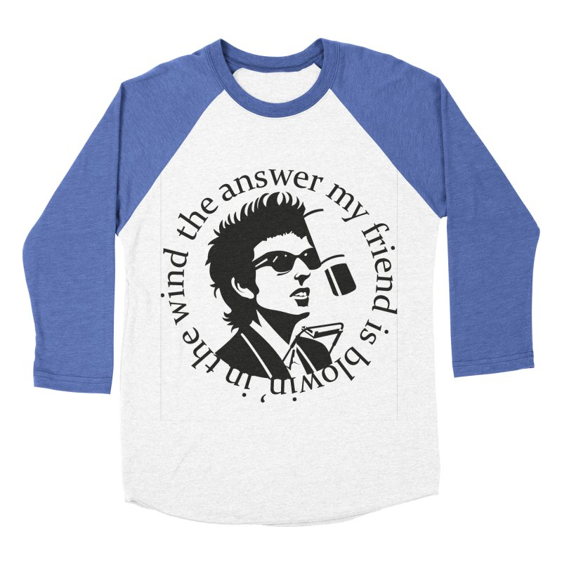 Blowin in the Wind. Men's Baseball Triblend Longsleeve T-Shirt by philscarr's Artist Shop