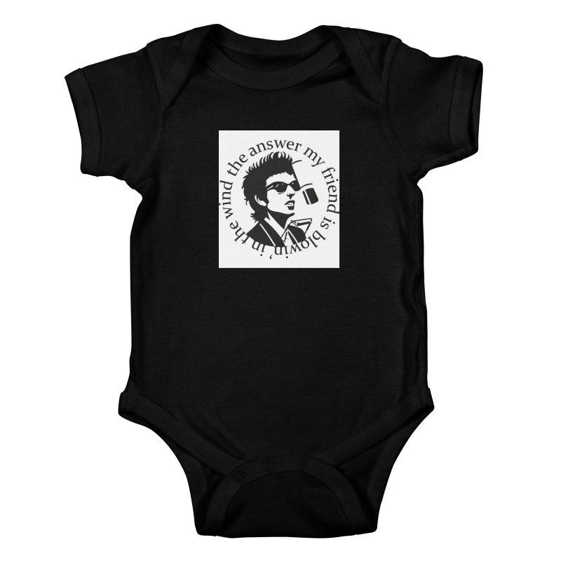 Blowin in the Wind. Kids Baby Bodysuit by philscarr's Artist Shop
