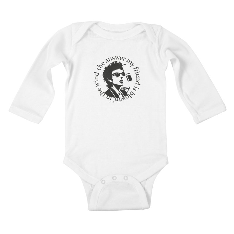 Blowin in the Wind. Kids Baby Longsleeve Bodysuit by philscarr's Artist Shop