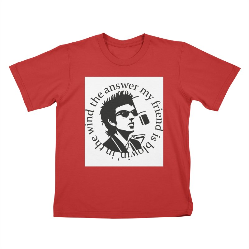 Blowin in the Wind. Kids T-Shirt by philscarr's Artist Shop