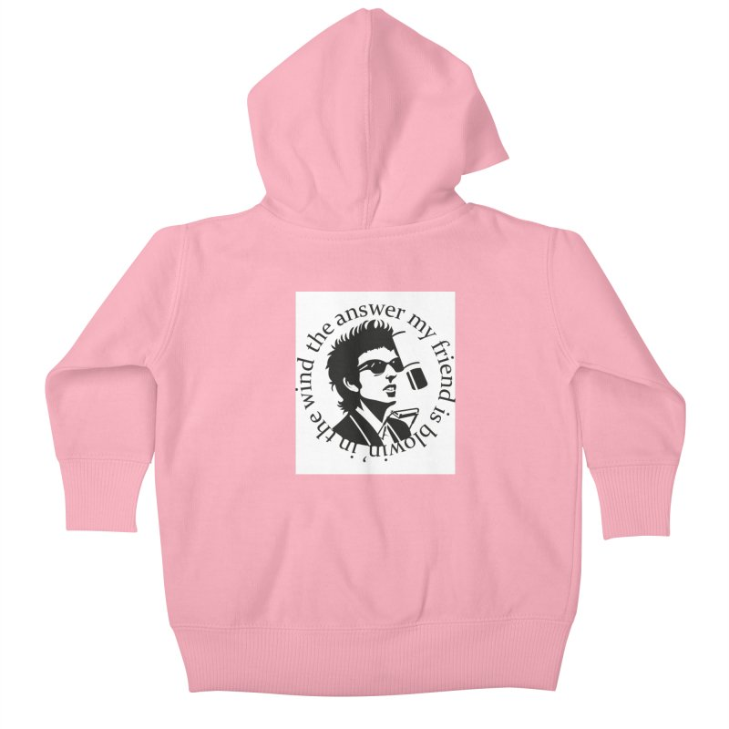 Blowin in the Wind. Kids Baby Zip-Up Hoody by philscarr's Artist Shop