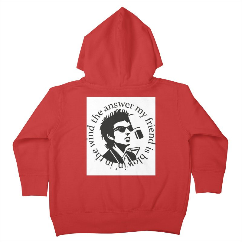 Blowin in the Wind. Kids Toddler Zip-Up Hoody by philscarr's Artist Shop