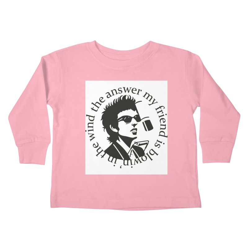 Blowin in the Wind. Kids Toddler Longsleeve T-Shirt by philscarr's Artist Shop