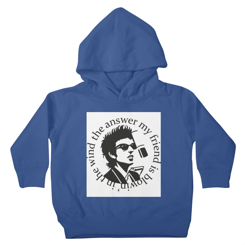 Blowin in the Wind. Kids Toddler Pullover Hoody by philscarr's Artist Shop