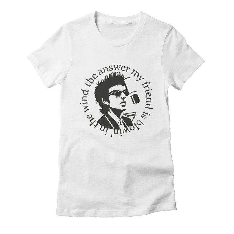 Blowin in the Wind. Women's Fitted T-Shirt by philscarr's Artist Shop