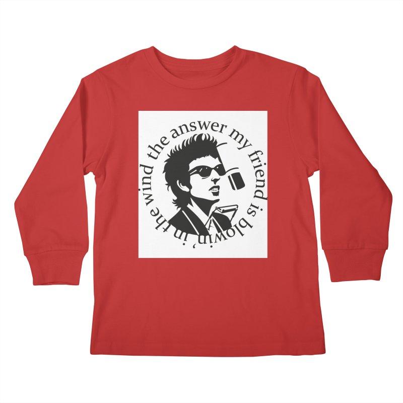 Blowin in the Wind. Kids Longsleeve T-Shirt by philscarr's Artist Shop