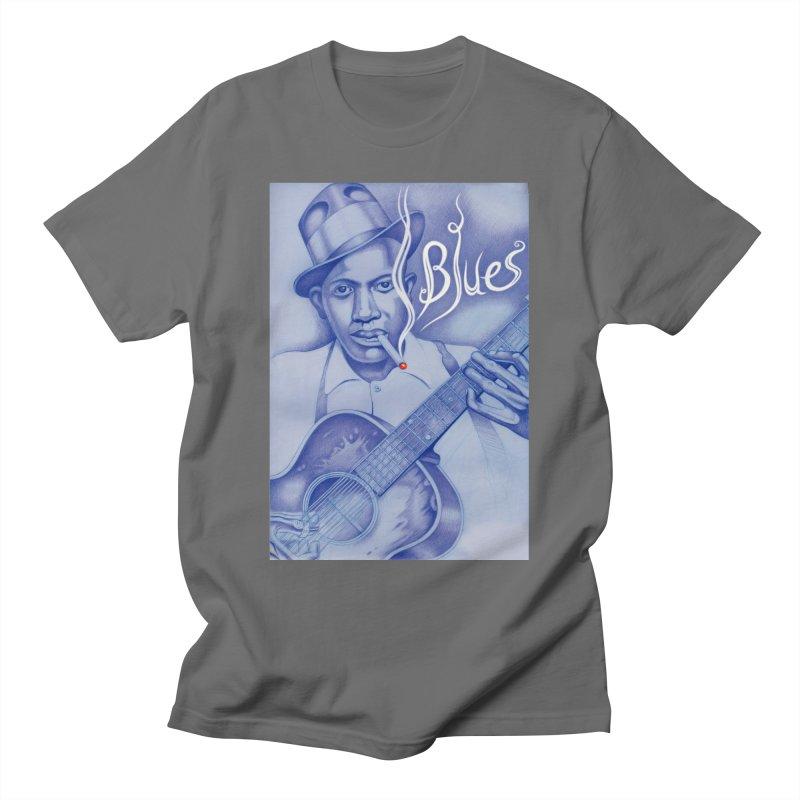 Robert Johnson. Men's T-Shirt by philscarr's Artist Shop