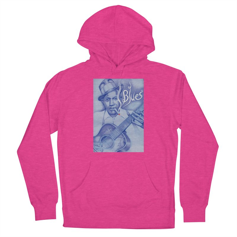 Robert Johnson. Women's French Terry Pullover Hoody by philscarr's Artist Shop