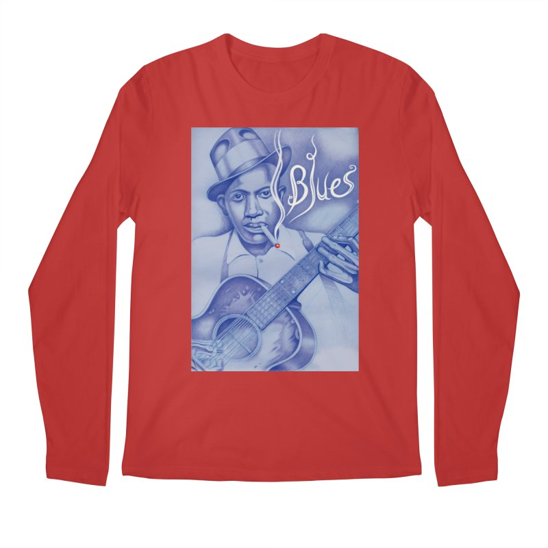 Robert Johnson. Men's Regular Longsleeve T-Shirt by philscarr's Artist Shop