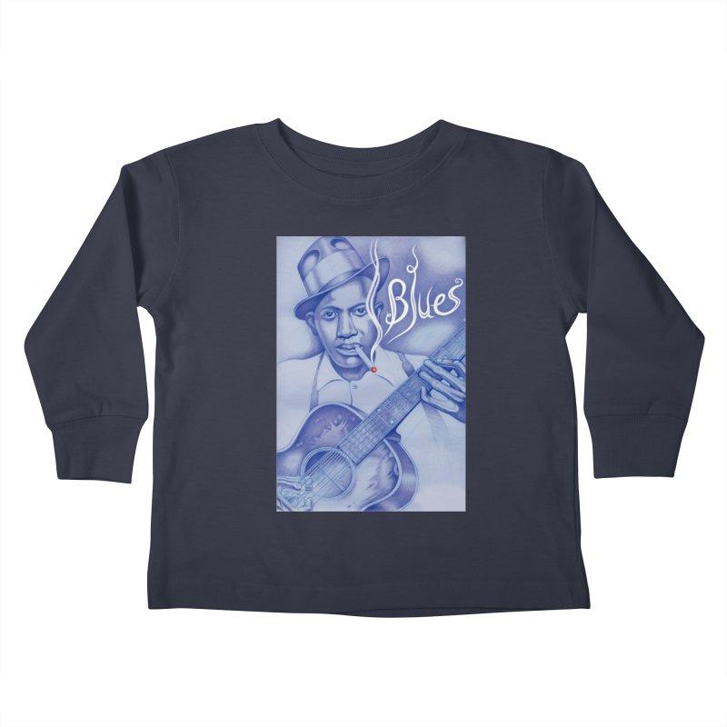 Robert Johnson. Kids Toddler Longsleeve T-Shirt by philscarr's Artist Shop