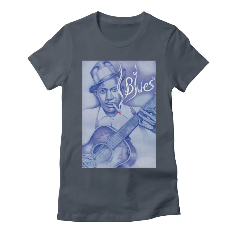 Robert Johnson. Women's T-Shirt by philscarr's Artist Shop