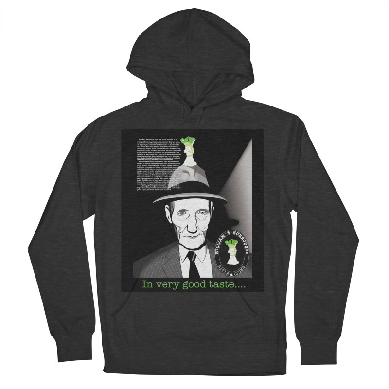 William Burrough's Apple Cider. Men's French Terry Pullover Hoody by philscarr's Artist Shop