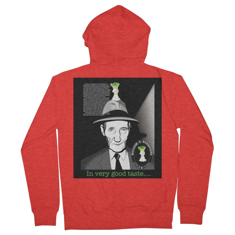 William Burrough's Apple Cider. Women's Zip-Up Hoody by philscarr's Artist Shop
