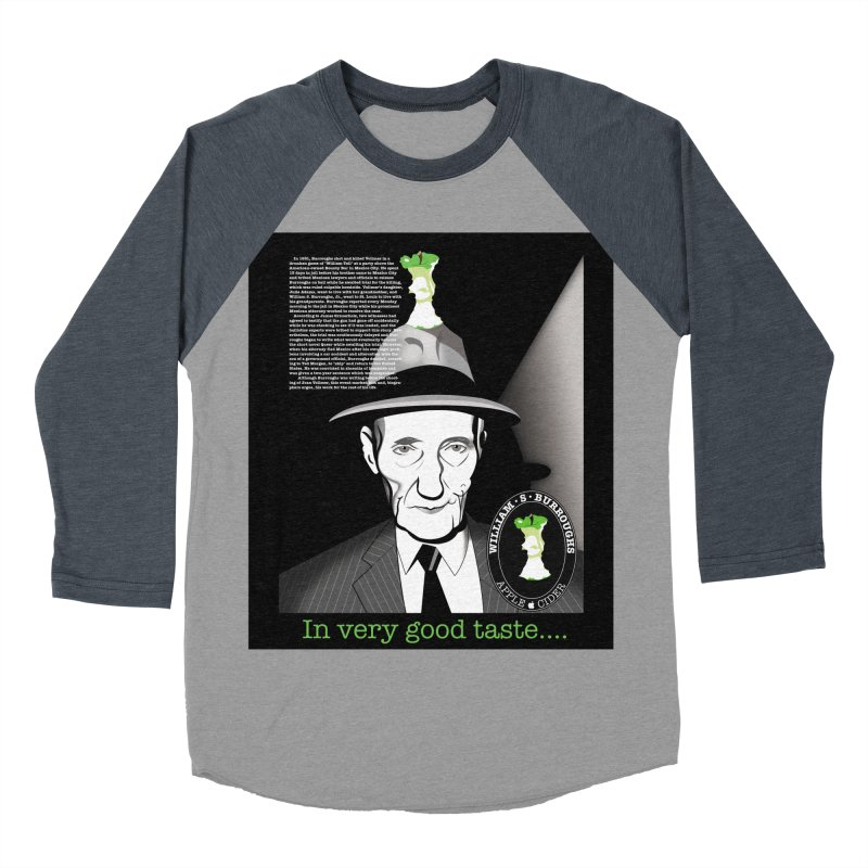 William Burrough's Apple Cider. Women's Baseball Triblend Longsleeve T-Shirt by philscarr's Artist Shop