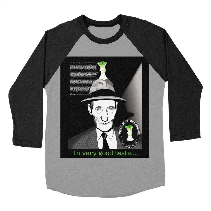 William Burrough's Apple Cider. Men's Baseball Triblend Longsleeve T-Shirt by philscarr's Artist Shop