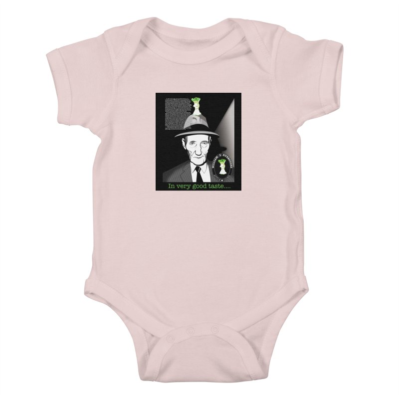 William Burrough's Apple Cider. Kids Baby Bodysuit by philscarr's Artist Shop