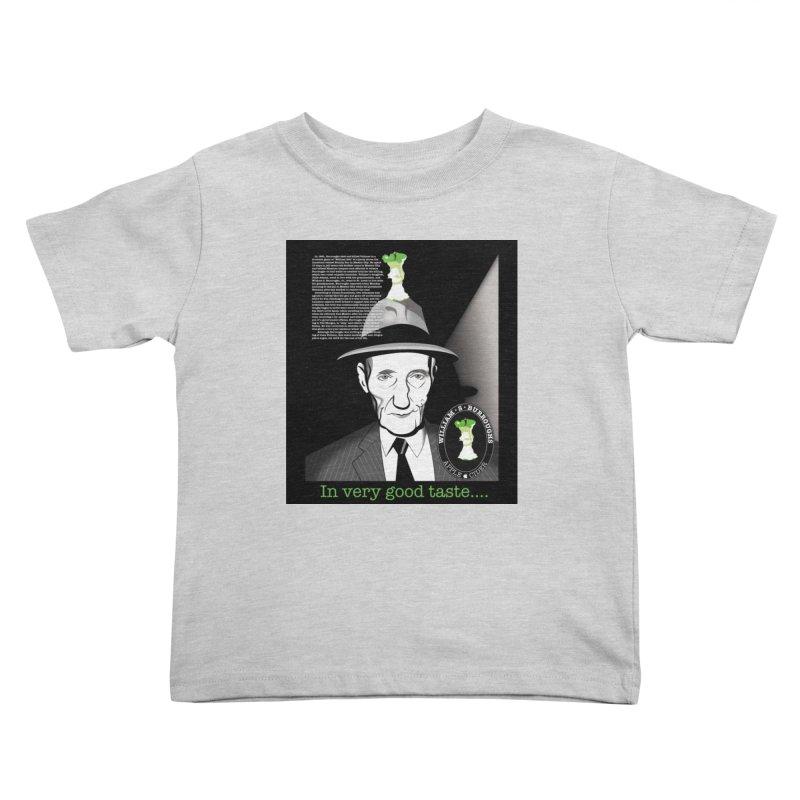 William Burrough's Apple Cider. Kids Toddler T-Shirt by philscarr's Artist Shop