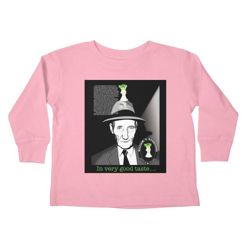 William Burrough's Apple Cider. Kids Toddler Longsleeve T-Shirt by philscarr's Artist Shop