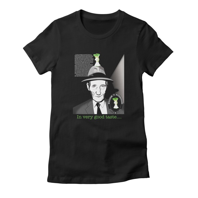William Burrough's Apple Cider. Women's Fitted T-Shirt by philscarr's Artist Shop