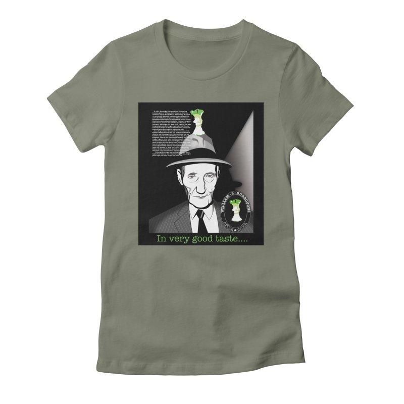 William Burrough's Apple Cider. Women's T-Shirt by philscarr's Artist Shop