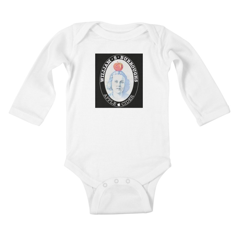 Joan Vollmer, William Burroughs wife. Kids Baby Longsleeve Bodysuit by philscarr's Artist Shop