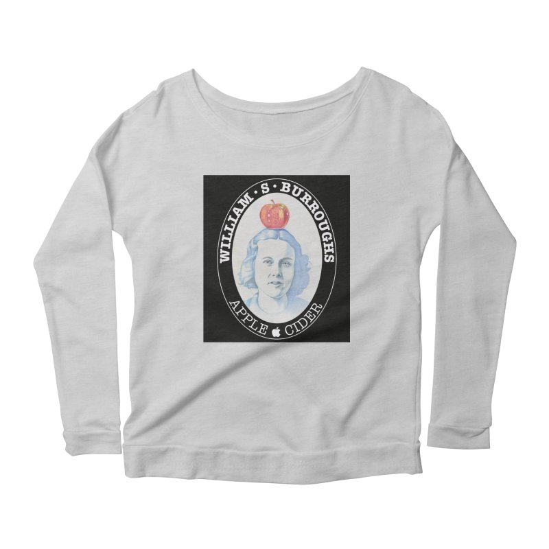 Joan Vollmer, William Burroughs wife. Women's Scoop Neck Longsleeve T-Shirt by philscarr's Artist Shop