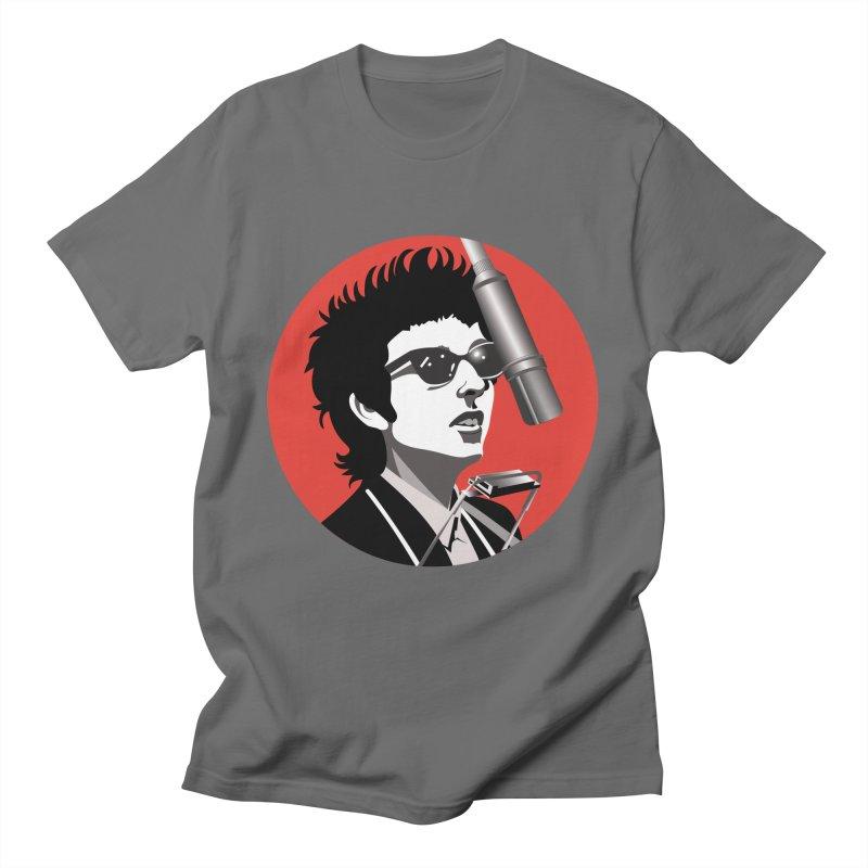 Bob Dylan Men's T-Shirt by philscarr's Artist Shop