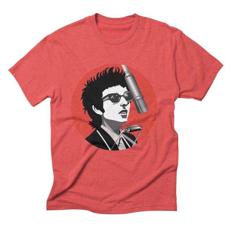 Bob Dylan Men's Triblend T-Shirt by philscarr's Artist Shop