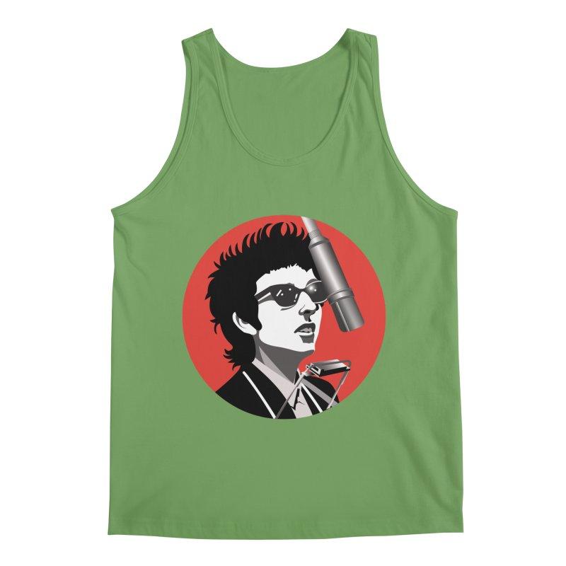Bob Dylan Men's Tank by philscarr's Artist Shop