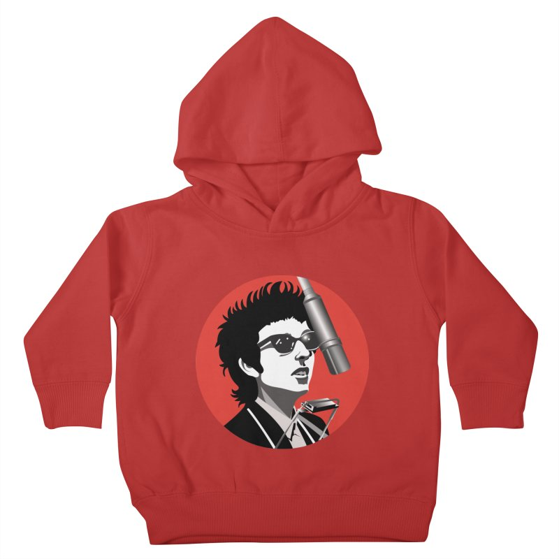 Bob Dylan Kids Toddler Pullover Hoody by philscarr's Artist Shop