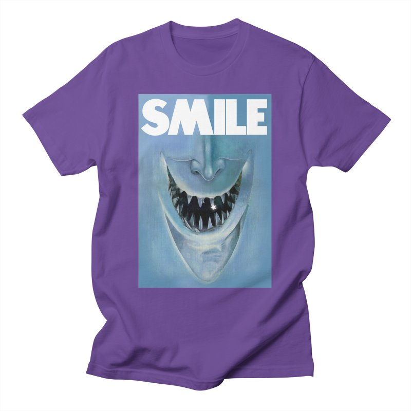 SMILE Men's T-Shirt by philscarr's Artist Shop