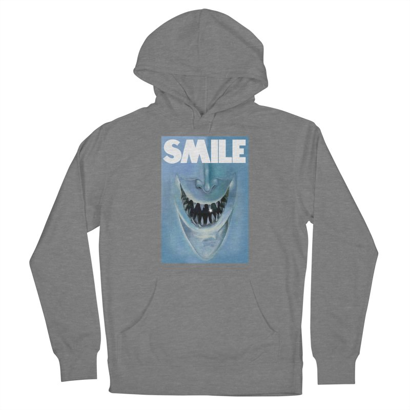 SMILE Women's Pullover Hoody by philscarr's Artist Shop