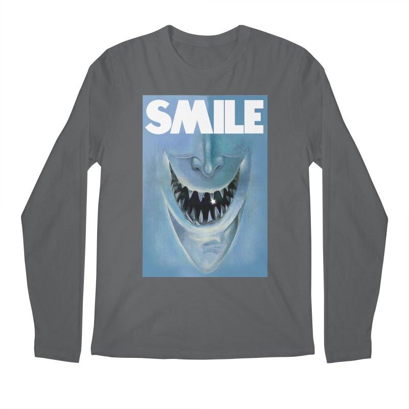 SMILE Men's Longsleeve T-Shirt by philscarr's Artist Shop