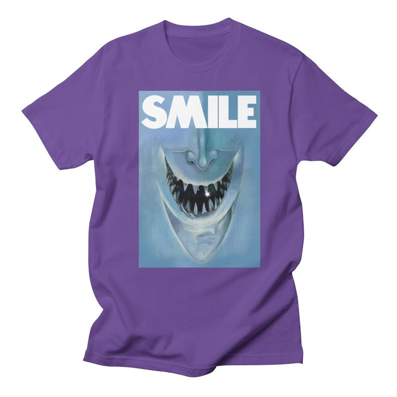 SMILE Men's Regular T-Shirt by philscarr's Artist Shop
