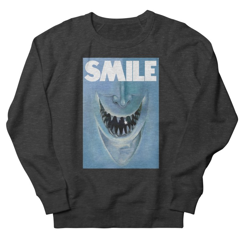 SMILE Women's French Terry Sweatshirt by philscarr's Artist Shop