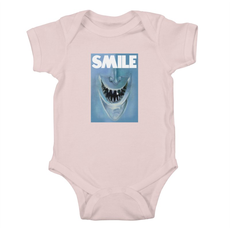 SMILE Kids Baby Bodysuit by philscarr's Artist Shop