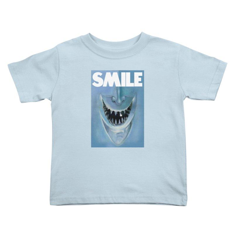 SMILE Kids Toddler T-Shirt by philscarr's Artist Shop