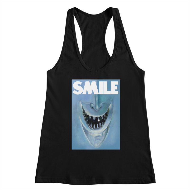 SMILE Women's Tank by philscarr's Artist Shop