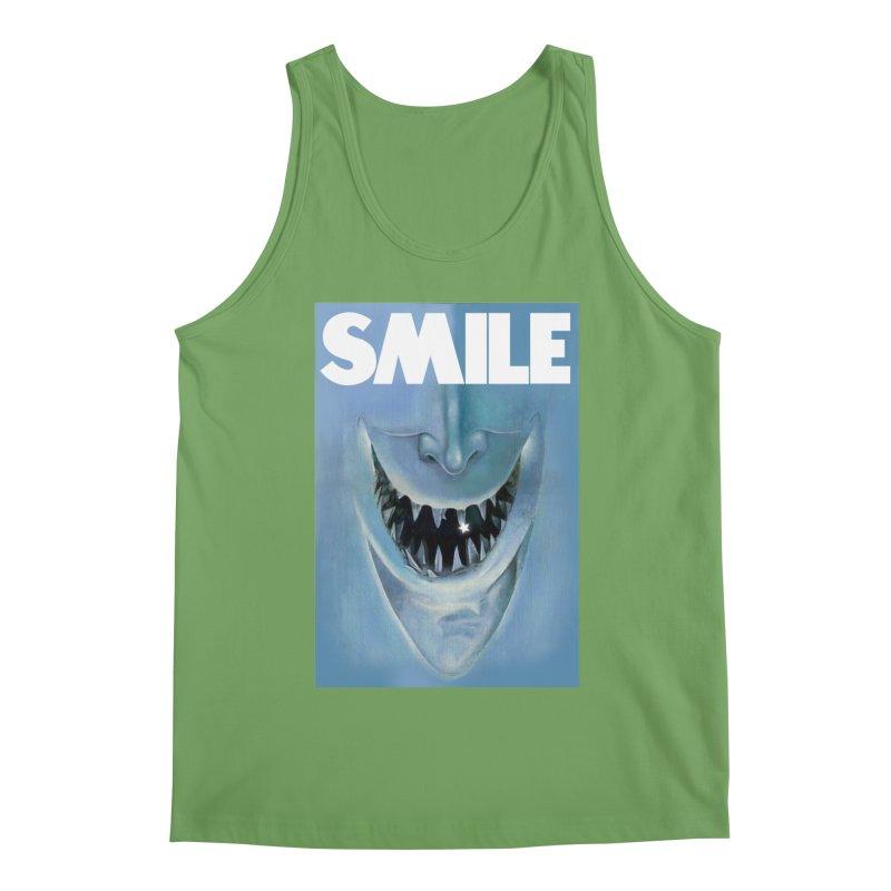 SMILE Men's Tank by philscarr's Artist Shop