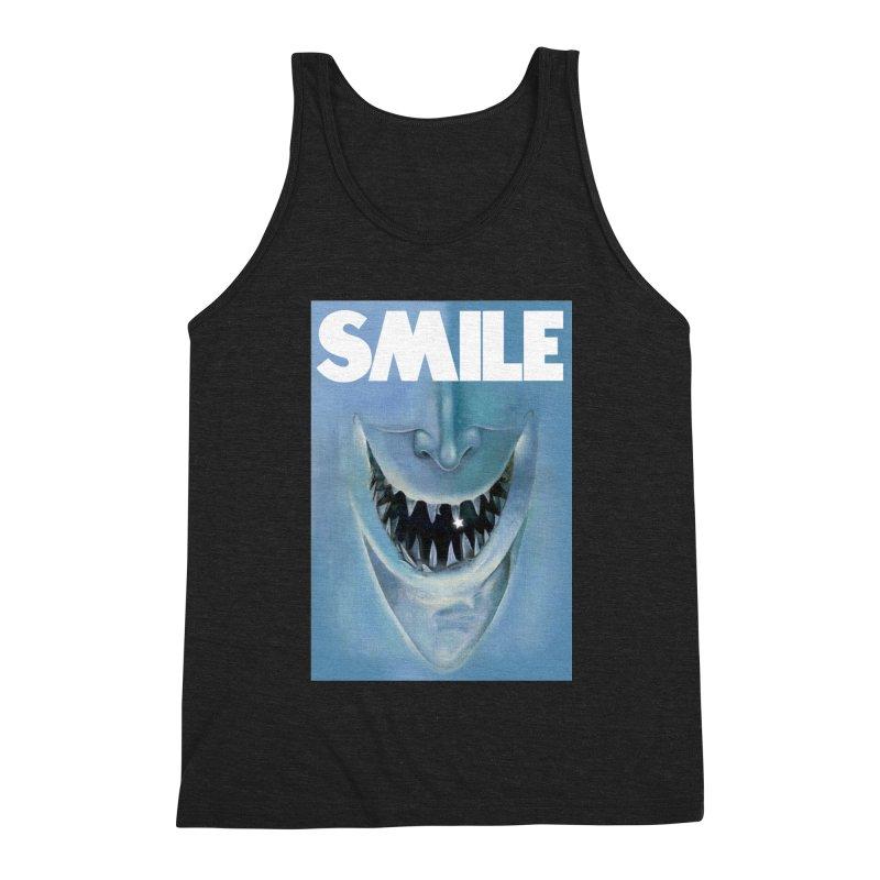SMILE Men's Triblend Tank by philscarr's Artist Shop