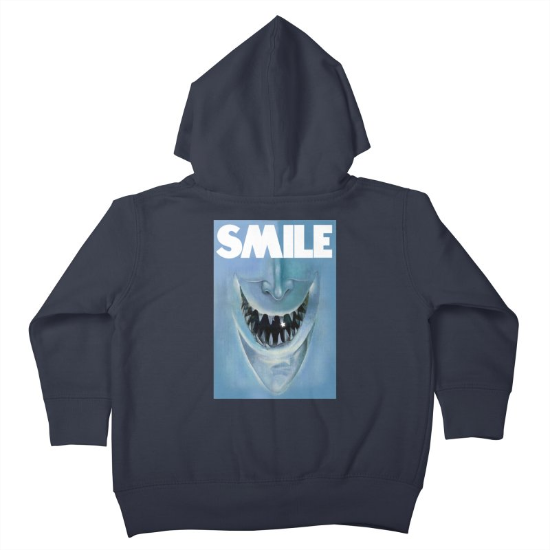 SMILE Kids Toddler Zip-Up Hoody by philscarr's Artist Shop