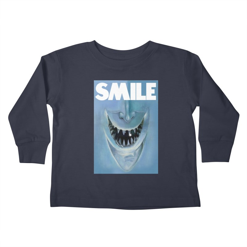 SMILE Kids Toddler Longsleeve T-Shirt by philscarr's Artist Shop