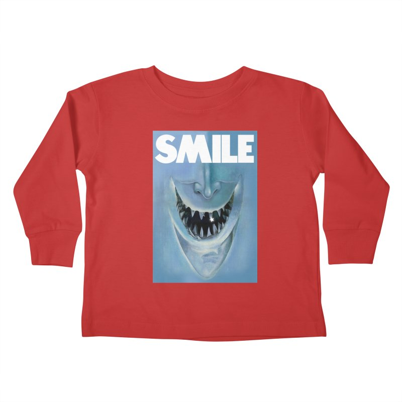 SMILE Kids Toddler Longsleeve T-Shirt by philscarr's Artist Shop