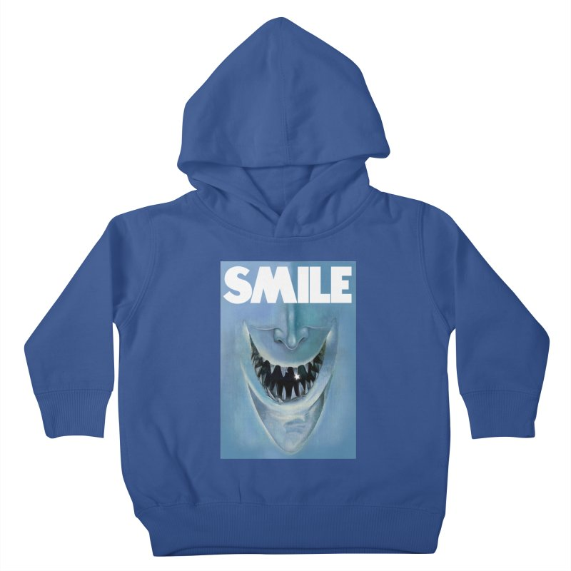 SMILE Kids Toddler Pullover Hoody by philscarr's Artist Shop