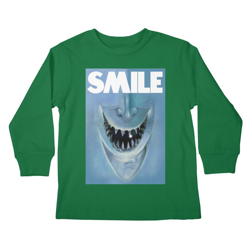 SMILE Kids Longsleeve T-Shirt by philscarr's Artist Shop